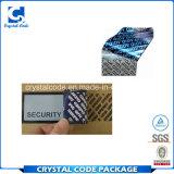 Étiquettes durables de collants de joint de vide de garantie