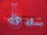 短い首の円形の最下の沸騰のフラスコ