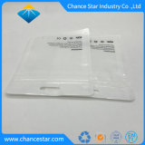 Sacchetto di plastica cosmetico su ordinazione di trucco della chiusura lampo del di alluminio di uso