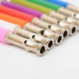 Chien en acier inoxydable multi couleurs sifflet, produit de formation PET