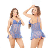China Black Lace transparente de lingerie sexy um design mais pequeno para mulher