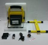 携帯用取り外し可能な電池屋外20W LEDの再充電可能な洪水ライト