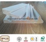 Bâti de moulage en bois de porte de montant de porte d'enveloppe imperméable à l'eau faite sur commande d'arrêt