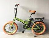 Bici eléctrica plegable con la batería gorda del neumático 36V350W-500W de la aleación muy barata del precio