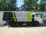 Carro seco del barrendero de camino del vacío del nuevo diseño de Dongfeng 4X2 para la arena