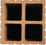 Hot-Sale Easily-Installed WPC Composite Coluna de Cerca (90*90 mm) com tratamento de superfície pode ser