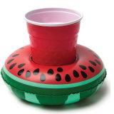 De Opblaasbare Drijvende Houder van de Kop van de Watermeloen pvc of TPU