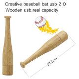2018 Modelo Personalizado de Basebol Unidade Flash de madeira