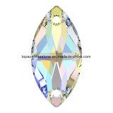 De Kristallen van de Boot van Tortoised parelt Bergkristallen de Lange Toebehoren van de Daling voor Stenen 2 van de Kleding Gat (Boot tP-Tortoised) naaien