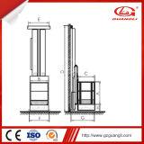 elevador 3D móvel para a cabine de pulverizador usada