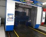Automático de rodillos móviles de la máquina de lavado de automóviles con cinco equipos de pinceles y cuatro ventiladores de secado de aire