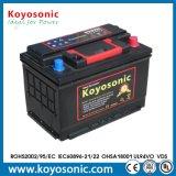bateria de carro acidificada ao chumbo livre da bateria do armazenamento da manutenção de 12V 74ah
