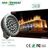 高い発電LEDのフラッドライトの屋外ライト
