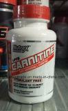 La carnitina de Nutrex Lipo-6 120 casquillos reduce el peso de la resistencia de la energía de las grasas de cuerpo