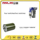 Cable de cobre de DC200kg de laminación del motor de la puerta electrónica con mando a distancia