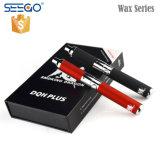 De draagbare Pen van de Damp van de Was van de Draak van de Rol van het Kwarts van Seego van het Ontwerp Dubbele Rokende