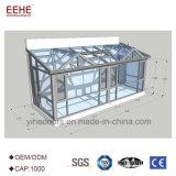 Jardin d'hiver de Sunroom avec le toit conservateur dans le prix usine de Foshan