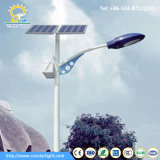 5m Pole Solar Street Light instalado no Níger
