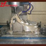 Protótipo fazendo à máquina do CNC da ferragem plástica feita sob encomenda do metal da peça de maquinaria