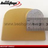 Medium-Bonddiamant-rundes Segment Lavina des Sand-120# Schleifplatte