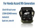 joueur vidéo-audio de grand écran du véhicule 15inch pour le 9ème rétablissement de Honda Accord