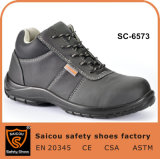 Chaussures de sûreté de chaussures de sûreté de tep des bons prix des hommes en acier de chapeau en Corée