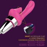 10 Absaugung-Modi der Schwingung-5 Clitoral G-Punkt, der Massager-erwachsene Geschlechts-entferntspielwaren für Frauen saugt