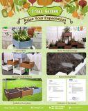 2018 de la sembradora de hortalizas con el armado de la Maceta jardín enarbolado cama
