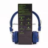 Auriculares sem fio de venda quentes de Bluetooth dos auscultadores do Headband