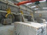 Maquinaria de hojas múltiples del corte por bloques de China para el granito, tipo hidráulico de rosca, marca de fábrica de Wanlong