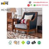 Дизайн в стиле Amercian антиквариата гостиной кожаный диван для дома Мебель (AD1001)