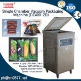 Única máquina de empacotamento do vácuo da câmara para a salsicha (DZ400-2D)