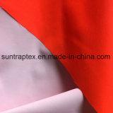 Полиэфирная ткань Oxford PU покрытием белого цвета для трафика/школьная форма