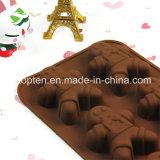 Moulage de chocolat de silicones de catégorie comestible de la cuisine 100% de ménage de la FDA LFGB