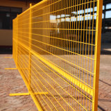 カナダの市場の粉の上塗を施してある安全金網の塀