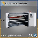 Máquina que raja de papel de alta velocidad de la Caliente-Venta con el eje del resbalón