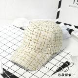 Fashion blanc/noir Casquette de baseball de la laine de l'hiver Hat