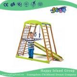 Малая спортивная площадка взбираясь рамок тренажера для игры малышей