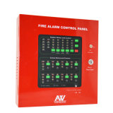220V het intelligente Controlebord van het Brandalarm van 8 Streek Conventionele
