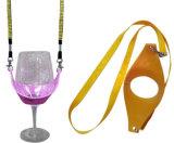 党イベントのためのワイングラスのホールダーの締縄