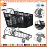 Chariot en plastique tout neuf à achats (Zht27)