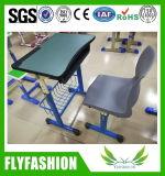 学校の教室の調査のチェアーテーブルの学校家具