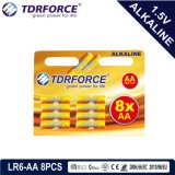 Pile sèche alkaline avec du ce reconnu pour le jouet 10PCS (taille de LR03-AAA)