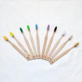 Toothbrush de bambu adulto amigável colorido de Eco
