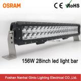 Offroad 28pouces Premium 156W Osram double rangée de barre d'éclairage à LED (GT3106-156W)
