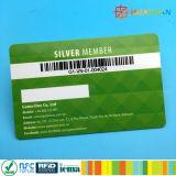 Personnalisé ou le code QR Code-barres imprimés ntag PVC213 Carte de NFC
