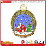 Ornamenti di natale della decorazione in lega di zinco dell'albero dei regali