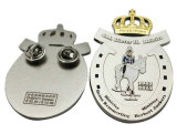 Pin de revers de nickel personnalisé par ventes chaudes pour le cadeau de promotion
