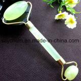 Природные красоты лица массаж инструмент Jade ролик с тонкими массажер
