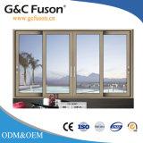 Fusonの大きい滑走の緩和されたガラスのドア